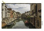 The Streets Of Venice Carry-all Pouch