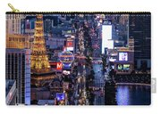 the Strip at night, Las Vegas Carry-all Pouch
