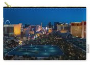 The Strip Las Vegas Carry-all Pouch