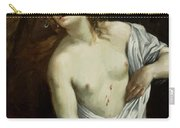 The Suicide Of Lucretia 1640 Carry-all Pouch