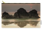 The Sun And Rocks Carry-all Pouch