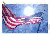 The Sun And The Flag Carry-all Pouch