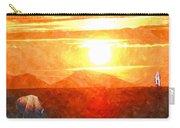 The Sun Dance Carry-all Pouch