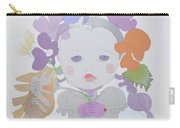 The Sun Flower Child Fairy Carry-all Pouch
