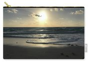 The Sun Is Rising Over The Ocean Carry-all Pouch