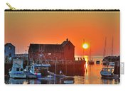 The Sun Rising By Motif Number 1 In Rockport Ma Bearskin Neck Carry-all Pouch