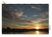 The Sun Sets In Milford Carry-all Pouch