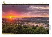 The Sun Sets Over Hexham Carry-all Pouch