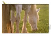The Sunlight Caught In The Horse Tail Carry-all Pouch