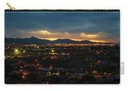 The Sunset From Popago Park Phoenix Arizona Az Golden Carry-all Pouch