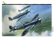 The Supermarine Spitfire Mark Ix Carry-all Pouch