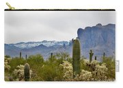 The Superstitions  Landscape Carry-all Pouch