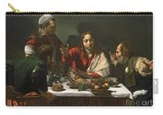 The Supper At Emmaus Carry-all Pouch