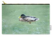 The Swimming Mallard Carry-all Pouch