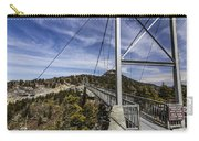 The Swinging Bridge Of Grandfather Mountain Carry-all Pouch