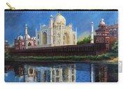 The Taj Mahal Shrine Of Beauty Carry-all Pouch