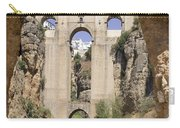 The Tajo De Ronda And Puente Nuevo Bridge Andalucia Spain Europe Carry-all Pouch