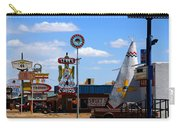 The Tee-pee Curios On Route 66 Nm Carry-all Pouch