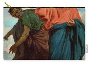 The Temptation Of Christ By The Devil Carry-all Pouch