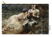 The Temptation Of Sir Percival Carry-all Pouch by Arthur Hacker