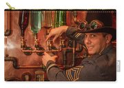 The Tender Steampunk Interior Design 7 Atlanta Man Cave Bar Art Carry-all Pouch