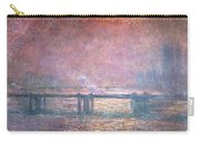 The Thames At Charing Cross Carry-all Pouch