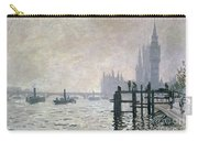 The Thames Below Westminster Carry-all Pouch
