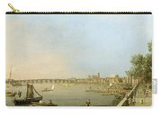 The Thames From The Terrace Of Somerset House Carry-all Pouch