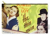 The Thin Man 1934 Carry-all Pouch