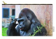 The Thinking Gorilla Carry-all Pouch