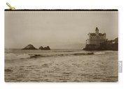 The  Third Cliff House And Seal Rocks From Pier, San Francisco,  Circa 1895 Carry-all Pouch