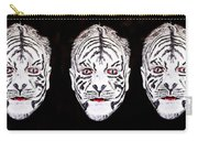 The Three Faces Carry-all Pouch
