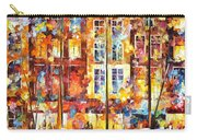 The Three Friends - Palette Knife Oil Painting On Canvas By Leonid Afremov Carry-all Pouch