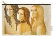 The Three Graces Carry-all Pouch