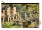 The Three Nymphs By Mary Bassett Carry-all Pouch