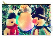 The Three Snowmen Carry-all Pouch