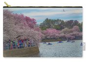 The Tidal Basin During The Washington D.c. Cherry Blossom Festival Carry-all Pouch