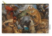 The Tiger Hunt Carry-all Pouch