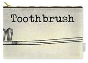 The Toothbrush Carry-all Pouch