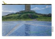 The Tower Of Hercules And The Rose Of The Winds Carry-all Pouch