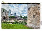 The Tower Of London And The City District With Gherkin Skyscraper, The Uk Carry-all Pouch