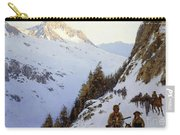 The Trail Over The Pass, 1910 Carry-all Pouch