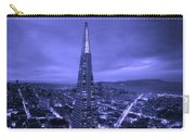 The Transamerica Pyramid At Sunset Carry-all Pouch