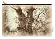 The Tree - Sepia Carry-all Pouch