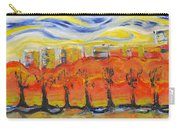 The Trees In Red. Day_march, 28  2015, Nizhny Novgorod, Russia_ Carry-all Pouch