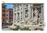 The Trevi Fountain In The City Of Rome Carry-all Pouch