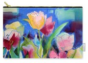 The Tulips Bed Rock Carry-all Pouch