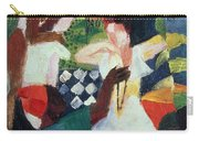 The Turkish Jeweller  Carry-all Pouch by August Macke