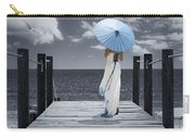 The Turquoise Parasol Carry-all Pouch