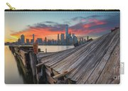 The Twisted Pier Panorama Carry-all Pouch